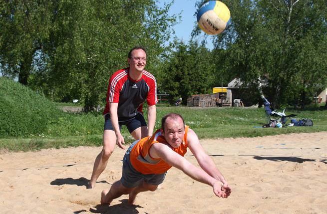 Beachvolleyball beim TSV Buch
