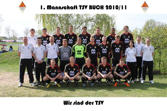 1. Mannschaft des TSV Buch