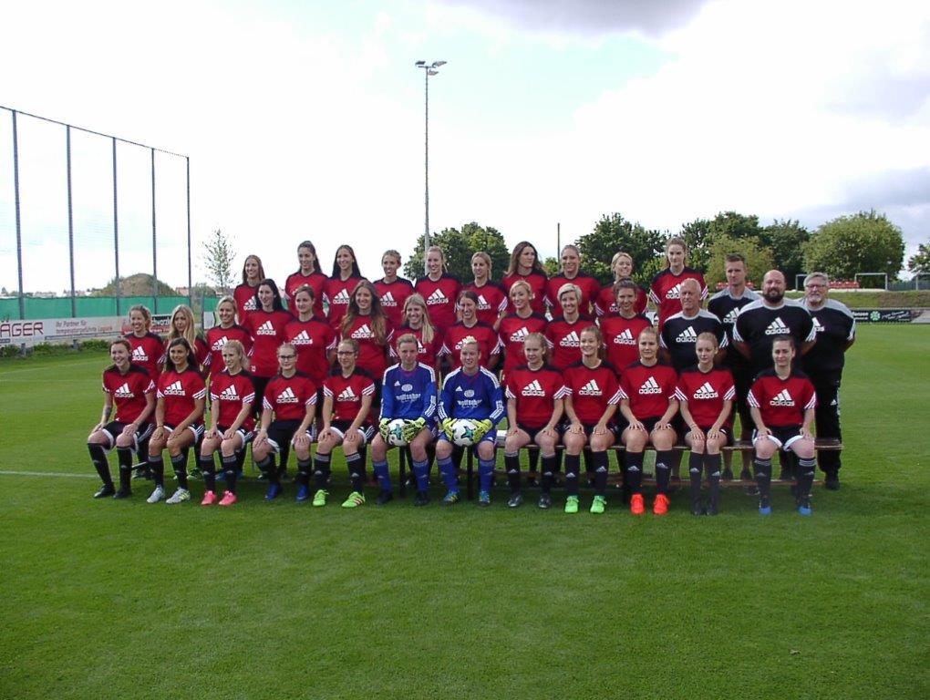 Fußball Frauenteam des TSV Buch